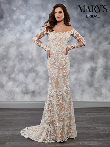 MB3031 gown from the 2018 Mary's Bridal collection, as seen on Bride.Canada