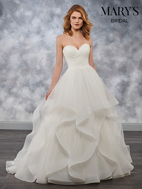MB3040 gown from the 2018 Mary's Bridal collection, as seen on Bride.Canada