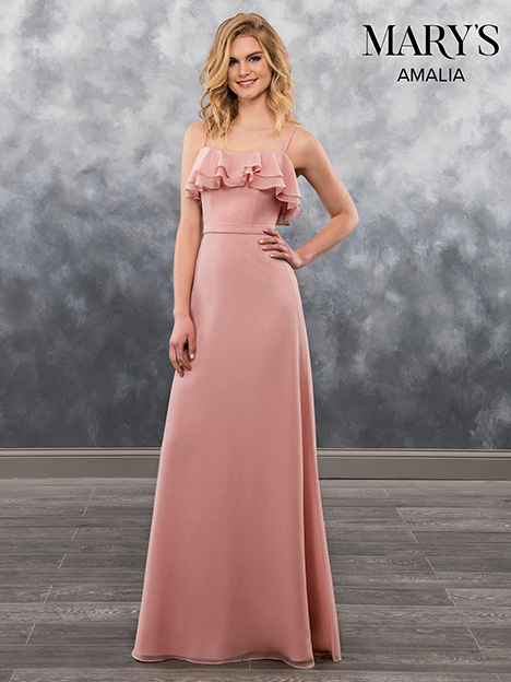 MB7022 gown from the 2018 Mary's Bridal: Amalia Bridesmaids collection, as seen on Bride.Canada