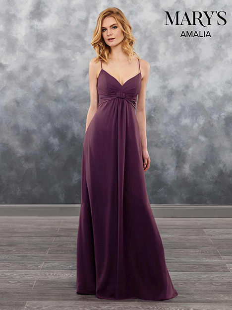 MB7024 gown from the 2018 Mary's Bridal: Amalia Bridesmaids collection, as seen on Bride.Canada