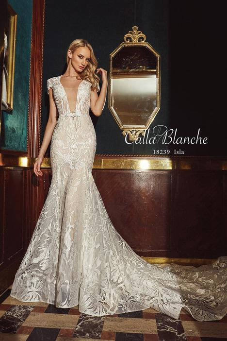 Isla gown from the 2018 Calla Blanche collection, as seen on Bride.Canada