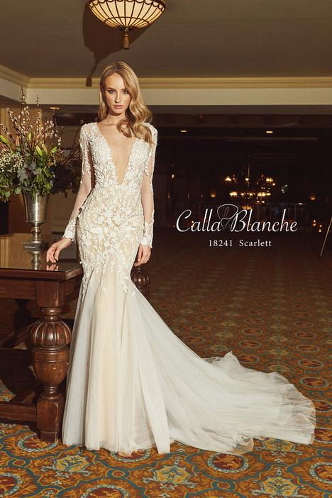 Scarlett gown from the 2018 Calla Blanche collection, as seen on Bride.Canada