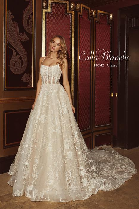 Claire gown from the 2018 Calla Blanche collection, as seen on Bride.Canada