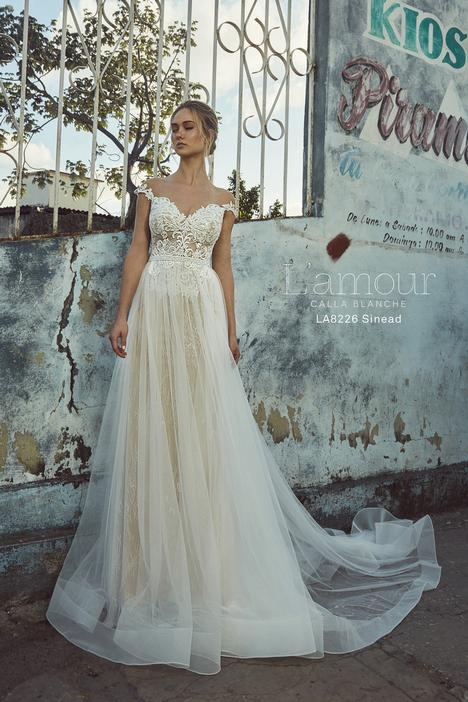 LA8226 gown from the 2018 L'Amour by Calla Blanche collection, as seen on Bride.Canada