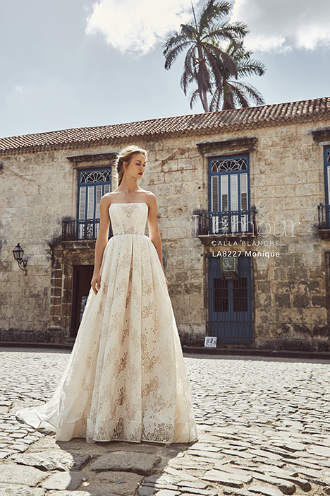 LA8227 gown from the 2018 L'Amour by Calla Blanche collection, as seen on Bride.Canada