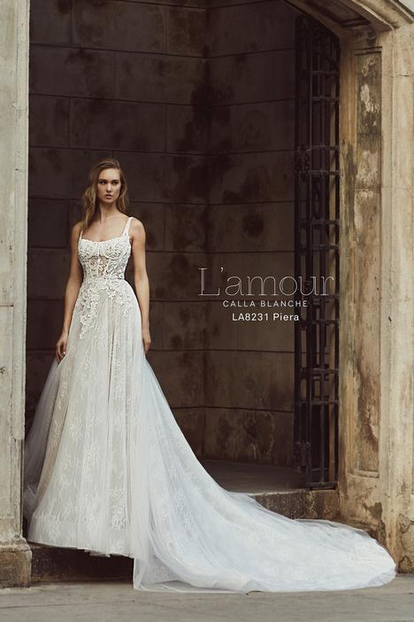 LA8231 gown from the 2018 L'Amour by Calla Blanche collection, as seen on Bride.Canada