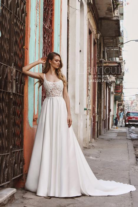 LA8233 gown from the 2018 L'Amour by Calla Blanche collection, as seen on Bride.Canada