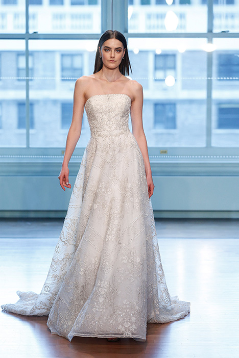 gown from the 2019 Justin Alexander Signature collection, as seen on Bride.Canada