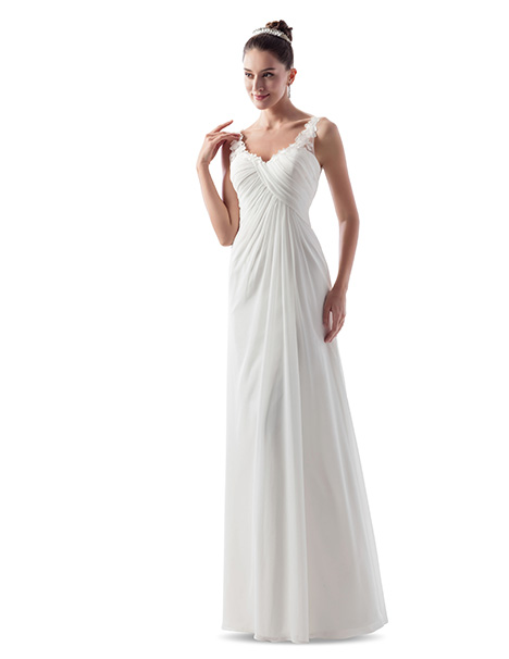 VN6961 gown from the 2018 Venus Informal collection, as seen on Bride.Canada