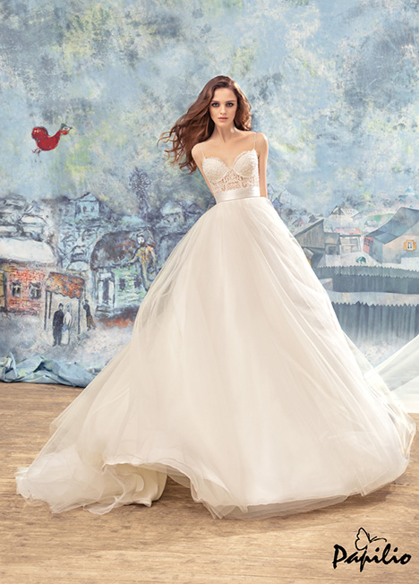 1723L gown from the 2017 Papilio Bridal collection, as seen on Bride.Canada