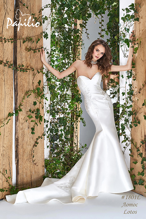 1801L gown from the 2018 Papilio Bridal collection, as seen on Bride.Canada