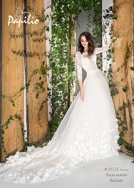 1812L gown from the 2018 Papilio Bridal collection, as seen on Bride.Canada