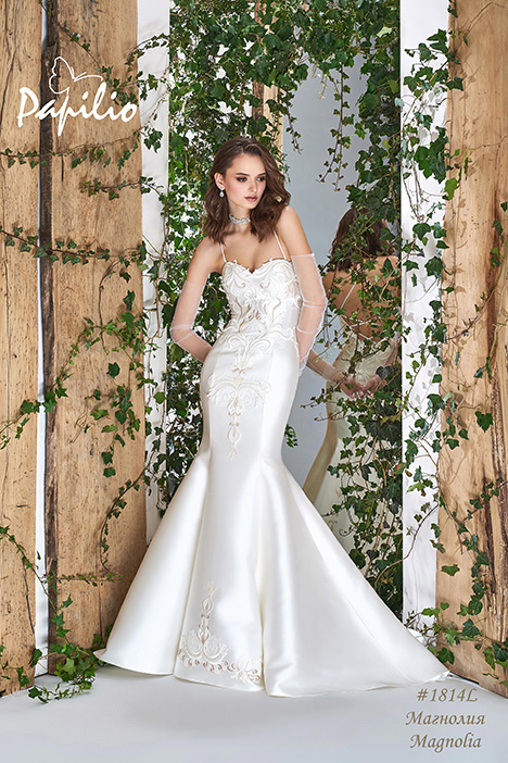 1814L gown from the 2018 Papilio Bridal collection, as seen on Bride.Canada