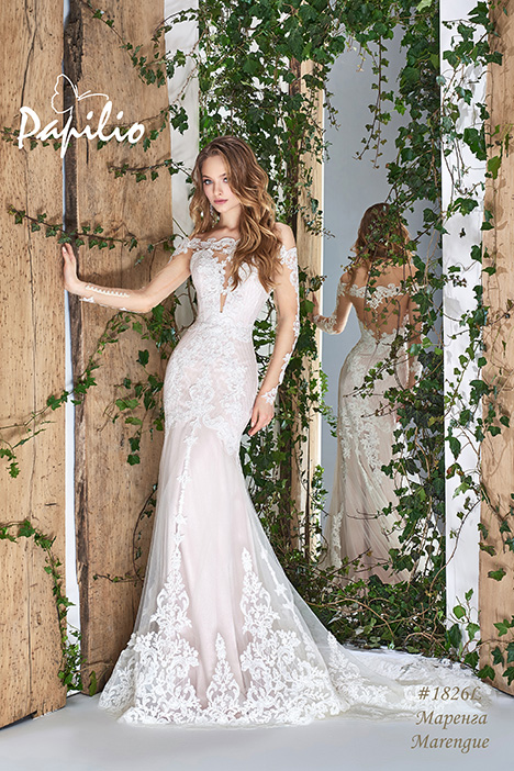 1826L gown from the 2018 Papilio Bridal collection, as seen on Bride.Canada