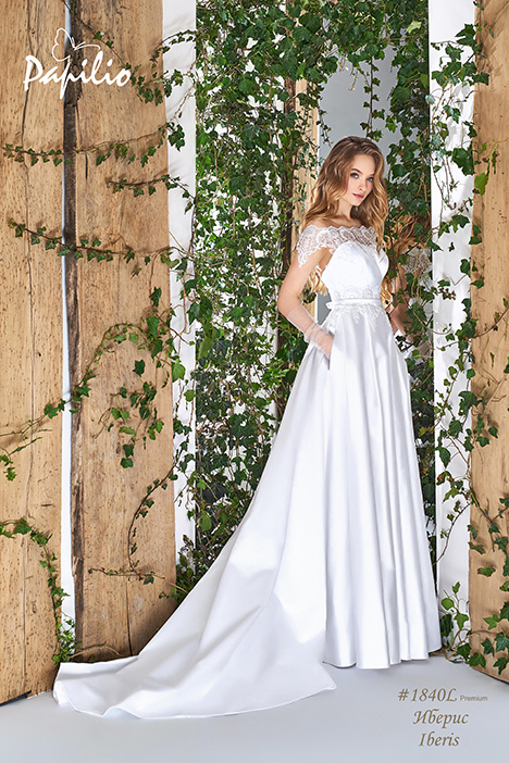 1840L gown from the 2018 Papilio Bridal collection, as seen on Bride.Canada