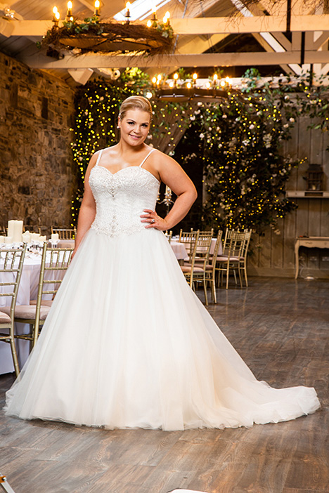 BBP19503 gown from the 2019 Bridalane: Beautiful Brides Plus collection, as seen on Bride.Canada