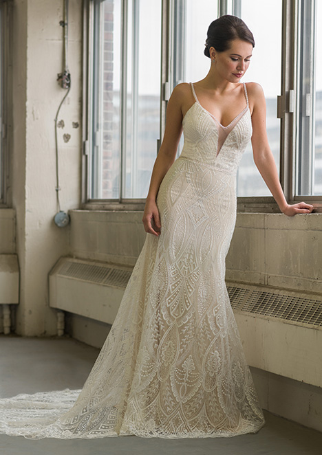 gp1101 gown from the 2018 Grace by Bridalane collection, as seen on Bride.Canada