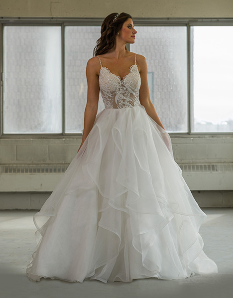 gp1102 gown from the 2018 Grace by Bridalane collection, as seen on Bride.Canada