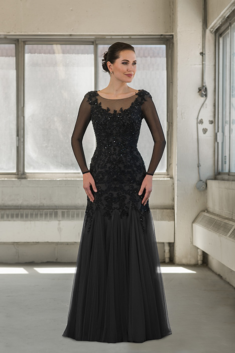 77700 (sleeves) gown from the 2018 Bridalane: Mothers & Evening collection, as seen on Bride.Canada