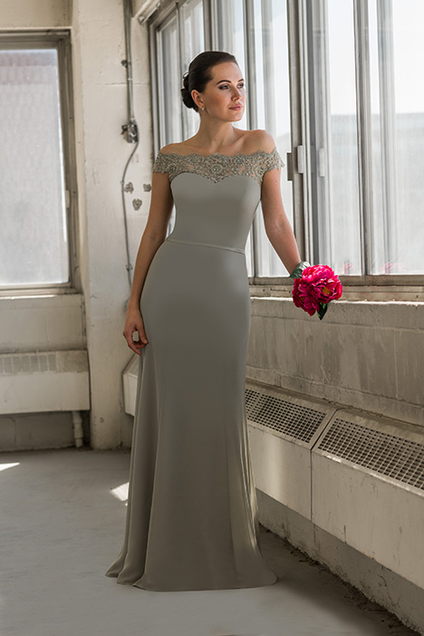 8805 gown from the 2018 Bridalane: Mothers & Evening collection, as seen on Bride.Canada