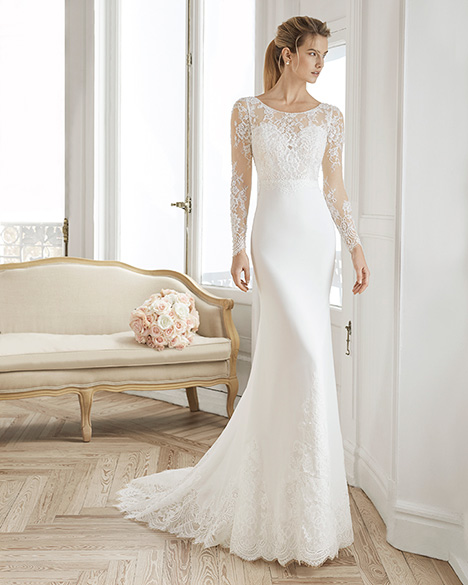 EDINA gown from the 2019 Aire Barcelona Bridal collection, as seen on Bride.Canada