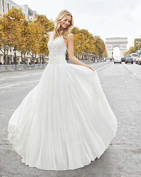ELIA gown from the 2019 Aire Barcelona Bridal collection, as seen on Bride.Canada
