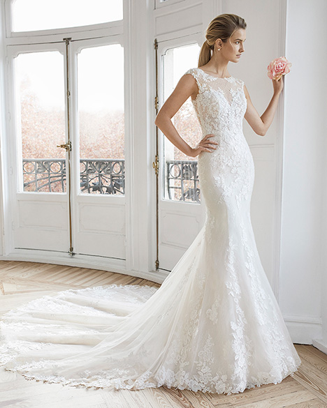ELIANE gown from the 2019 Aire Barcelona Bridal collection, as seen on Bride.Canada