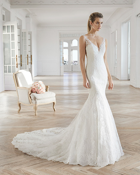 ELODIA gown from the 2019 Aire Barcelona Bridal collection, as seen on Bride.Canada