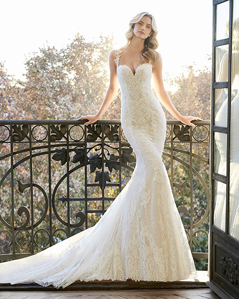 ELVES gown from the 2019 Aire Barcelona Bridal collection, as seen on Bride.Canada