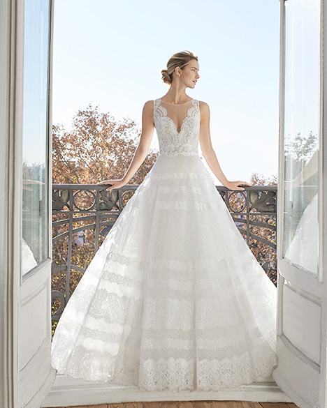 ENYA gown from the 2019 Aire Barcelona Bridal collection, as seen on Bride.Canada