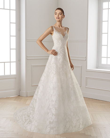 EPOCA gown from the 2019 Aire Barcelona Bridal collection, as seen on Bride.Canada