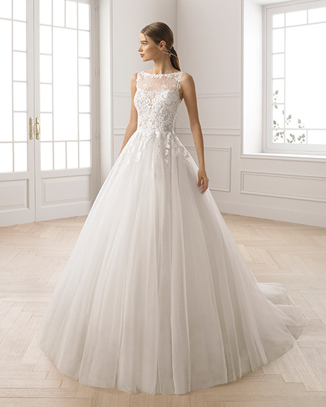 ERLINDA gown from the 2019 Aire Barcelona Bridal collection, as seen on Bride.Canada