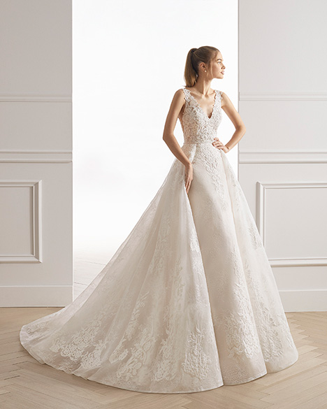 ESTIVAL gown from the 2019 Aire Barcelona Bridal collection, as seen on Bride.Canada