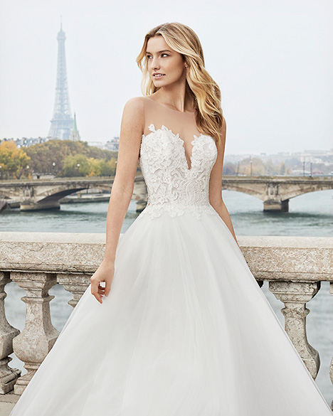 EVEN gown from the 2019 Aire Barcelona Bridal collection, as seen on Bride.Canada