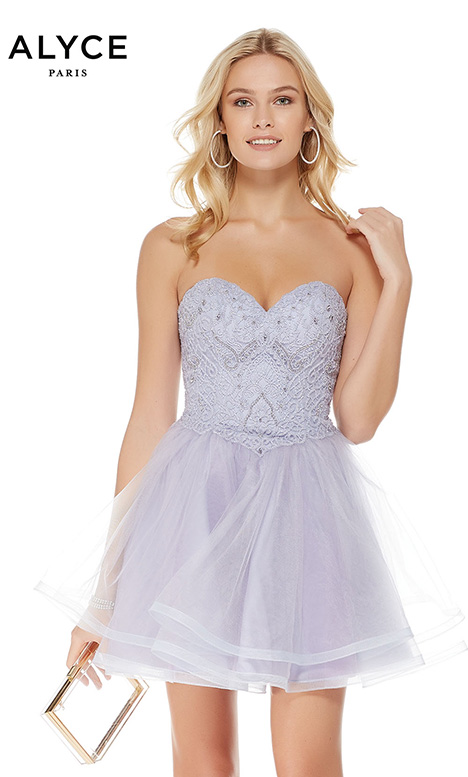 3759 (Lilac) gown from the 2018 Alyce Paris: Semi Formal collection, as seen on Bride.Canada