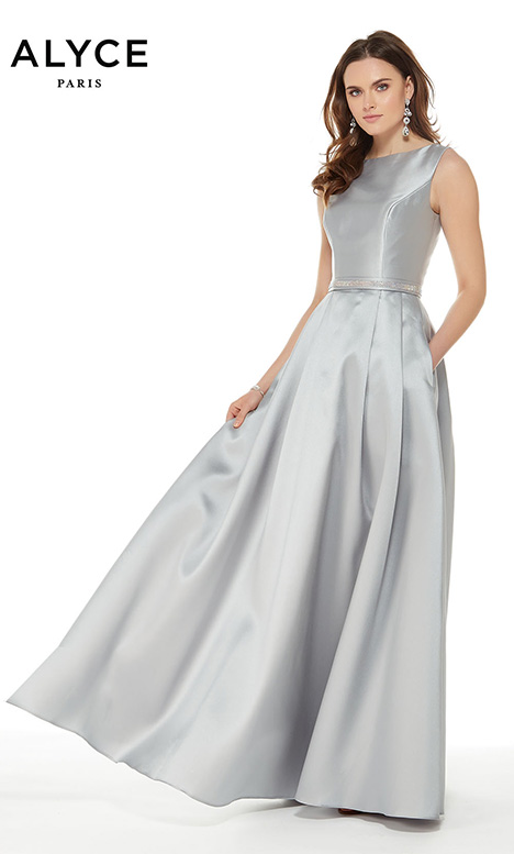 27000 (Silver) gown from the 2018 Alyce Paris: JDL Collection collection, as seen on Bride.Canada