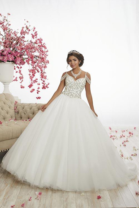 56342 gown from the 2018 Fiesta collection, as seen on Bride.Canada