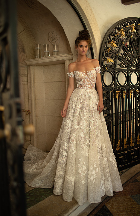 19-02 gown from the 2019 Berta Bridal collection, as seen on Bride.Canada