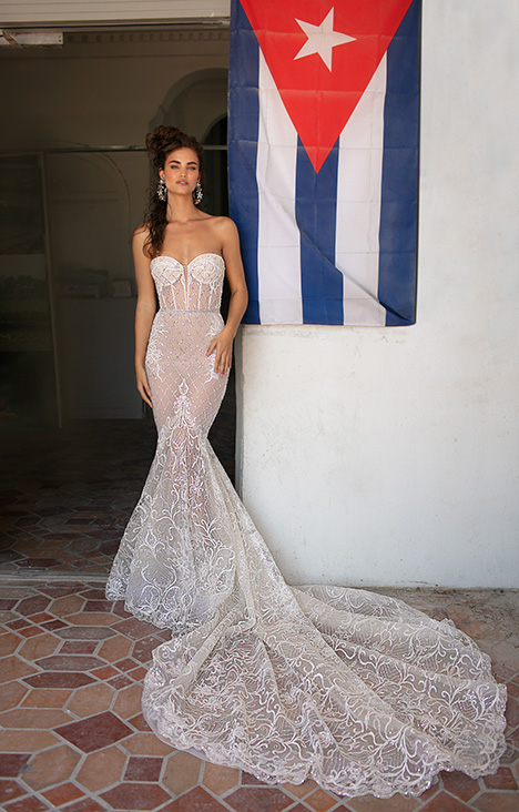 19-03 gown from the 2019 Berta Bridal collection, as seen on Bride.Canada