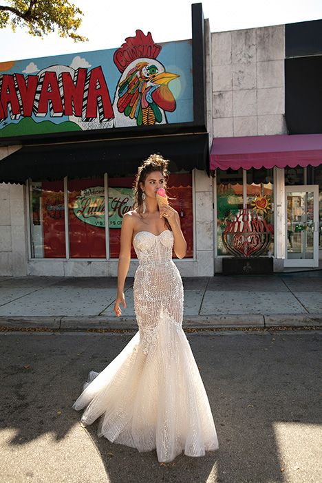 19-08 gown from the 2019 Berta Bridal collection, as seen on Bride.Canada