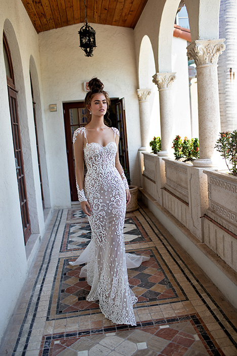 19-09 gown from the 2019 Berta Bridal collection, as seen on Bride.Canada