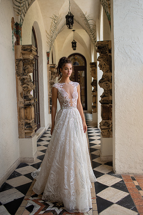 19-10 gown from the 2019 Berta Bridal collection, as seen on Bride.Canada