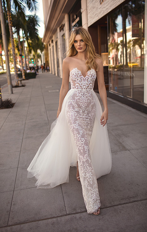 Camila gown from the 2019 Muse by BERTA collection, as seen on Bride.Canada