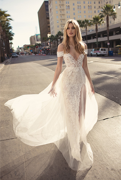 Charlotte gown from the 2019 Muse by BERTA collection, as seen on Bride.Canada