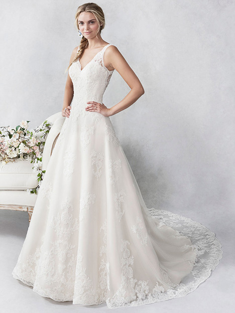 be468 gown from the 2018 Ella Rosa collection, as seen on Bride.Canada