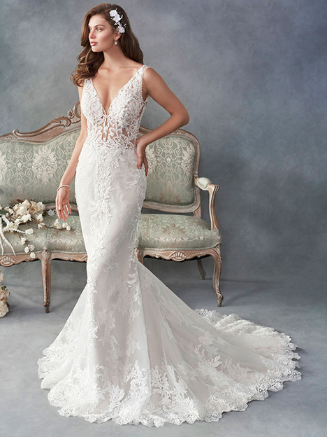 1787 gown from the 2018 Kenneth Winston collection, as seen on Bride.Canada