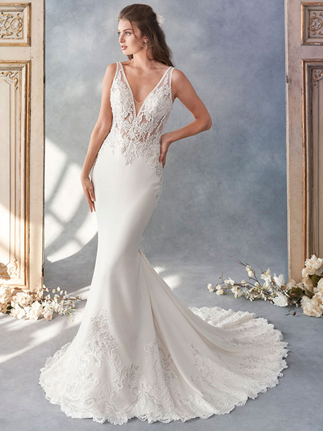1794 gown from the 2018 Kenneth Winston collection, as seen on Bride.Canada