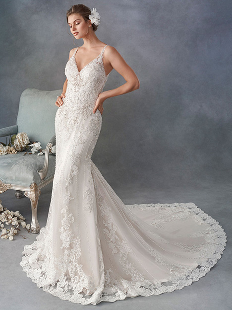 1796 gown from the 2018 Kenneth Winston collection, as seen on Bride.Canada