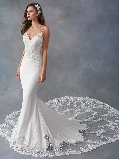 1797 gown from the 2018 Kenneth Winston collection, as seen on Bride.Canada