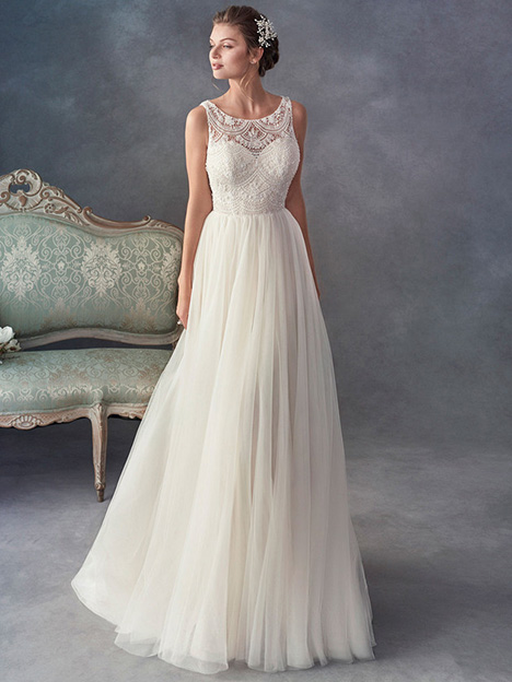1804 gown from the 2018 Kenneth Winston collection, as seen on Bride.Canada